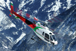 Ecureuil AS350 B3 - F-GXBH - Blugeon hélicoptères