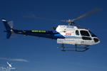 L'AS3350 B2 de MBH au départ pour une mission de secours dans le Chablais