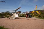 LAMA SA315 B F-BIFT posé au pied du mont Vinaigre