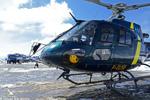 Ecureuil AS350 B3 HDF F-GUSE posé sur DZ, RTE