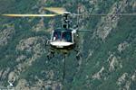 AS350 B3 plus Heli Béarn travaux sur conduite forcée Orlu 09