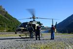 AS350 B3 plus, Heli Béarn récupération de personel
