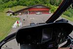 Ecureuil AS350 B3 HB-ZIG en Courte final sur LSXG