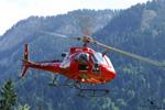 Ecureuil AS350 B3 HB-ZIG au décollage