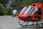 Ecureuil AS350 B3 HB-ZKT et Lama SA315 B