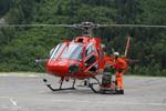 Ecureuil AS350 B3 HB-ZIG fin de journée