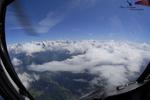 Vol pour un largage para à plus de 4000 mètres