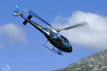 Airbus Helicopters AS350 B2 F-GJJH s/n : 2584 Finale coupe du monde VTT Méribel