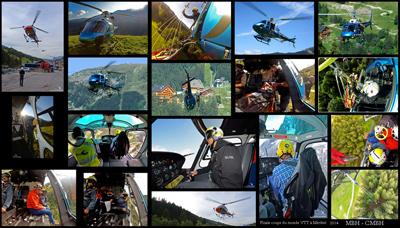 Toutes les images de la mission héliportée MBH et CMBH à Méribel