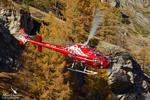 AS350 B3e HB-ZVS Air Zermatt Départ pour une mission