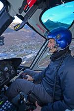 Pilote de l'AS350 B3 HB-ZES Eagle Helicopter Valais