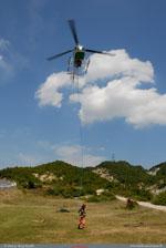 LAMA Air green récupération de l'ingue par le mécano