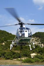 LAMA SA 315B Air green au posé