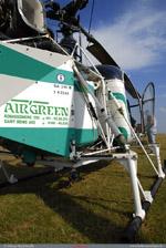 LAMA SA 315B Air green Albanie Posé