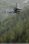 Treuillage EC 145 Gendarmerie de Chamonix