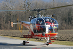 Alouette III Airs Glacier Monthey Suisse