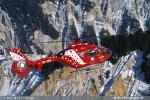 EC 135 Air Zermatt Passage a Courchevel