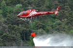 Largage d'eau Air Zermatt - Suisse