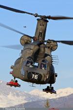 Chinook Espagnol au décollage