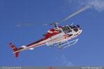 Passage de l'AS 350 B3 du SAF Hélicoptères