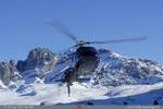 AS 355N  Ecureui l F-GMAX  en courte final héliport