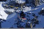 F-HMGM , record du monde de poser en altitude. Challenge Hélicoptères