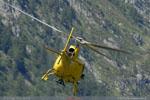 AS 350 B3+ au décollage pour le Mont-Blanc