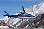 Swiss jet avec l'Agusta Grand
