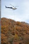 Levage de pylone élèctrique