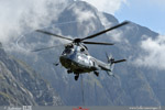 Super Puma en final pour le positionnement