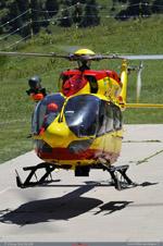 EC 145 sécurité civile Dragon 73 au posé