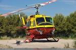 Bell 212 LX-HRR sous le soleil