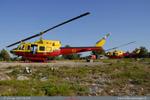 Les deux HBE Bell 212 Morane 66 et 67