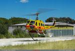 Bell 205A-1 départ pour feux de foret dans le Var