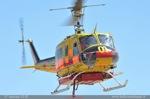 Bell 205A-1 départ pour feux