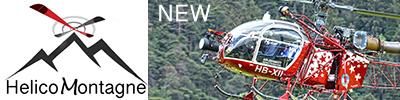 Gallerie photo hélicoptère Helicomontagne - Toutes les dernières photos