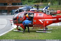 Alouette III DZ des bois Chamonix