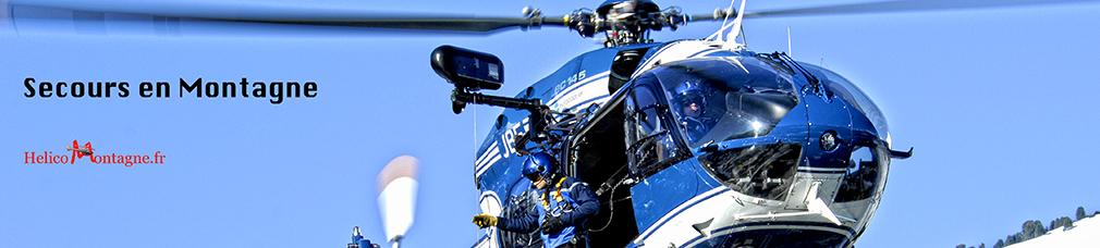 Hélicoptère Secours en Montagne Helicomontagne