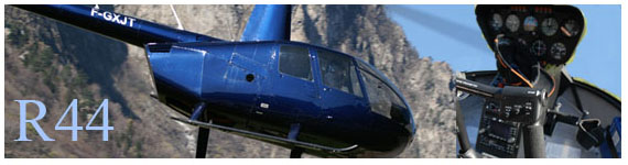 Reportage R44 Vol montagne