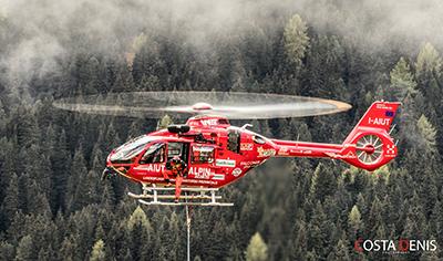 secours à l'éingue HEC Human cargo AIUT H135